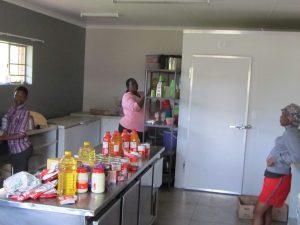 Kitchen at Thabang Centre