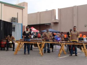 Thabang Marimba Band at Thabazimbi